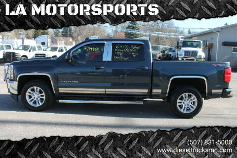 2017 Chevrolet Silverado 1500 for sale at LA MOTORSPORTS in Windom MN