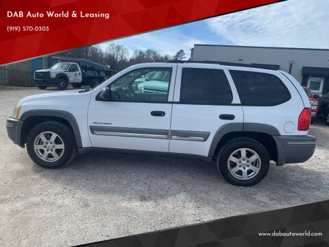 2007 Isuzu Ascender for sale at DAB Auto World & Leasing in Wake Forest NC