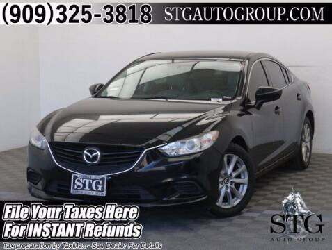 2016 Mazda MAZDA6 for sale at STG Auto Group in Montclair CA
