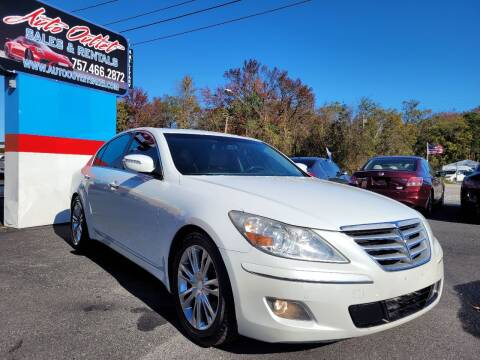 2010 Hyundai Genesis for sale at Auto Outlet Sales and Rentals in Norfolk VA