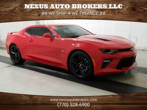 2016 Chevrolet Camaro for sale at Nexus Auto Brokers LLC in Marietta GA