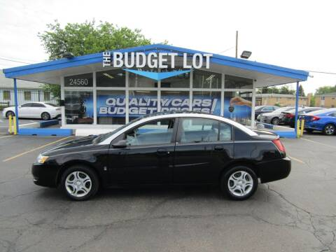2003 Saturn Ion for sale at THE BUDGET LOT in Detroit MI