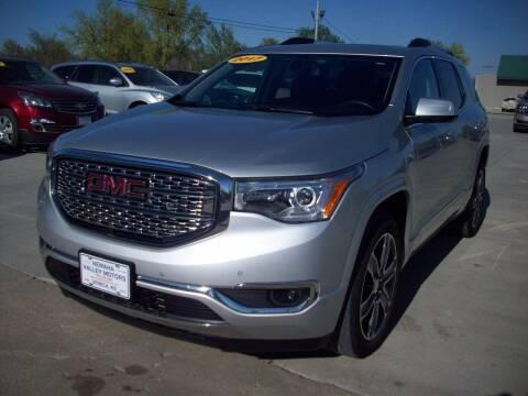 2017 GMC Acadia for sale at Nemaha Valley Motors in Seneca KS
