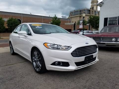 2016 Ford Fusion for sale at BELLEFONTAINE MOTOR SALES in Bellefontaine OH