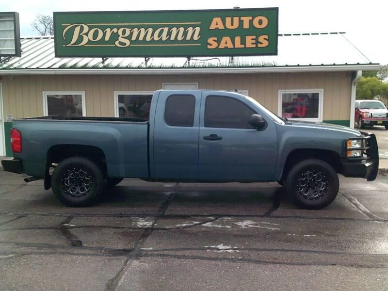 2013 Chevrolet Silverado 1500 for sale at Borgmann Auto Sales in Norfolk NE