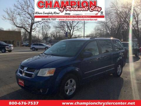 2010 Dodge Grand Caravan for sale at CHAMPION CHRYSLER CENTER in Rockwell City IA
