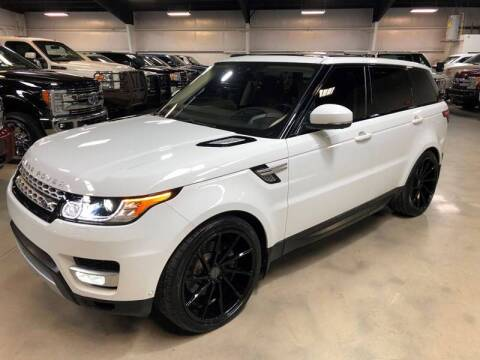2017 Land Rover Range Rover Sport for sale at Diesel Of Houston in Houston TX