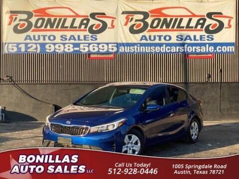 2017 Kia Forte for sale at Bonillas Auto Sales in Austin TX