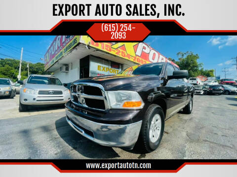 2011 RAM Ram Pickup 1500 for sale at EXPORT AUTO SALES, INC. in Nashville TN