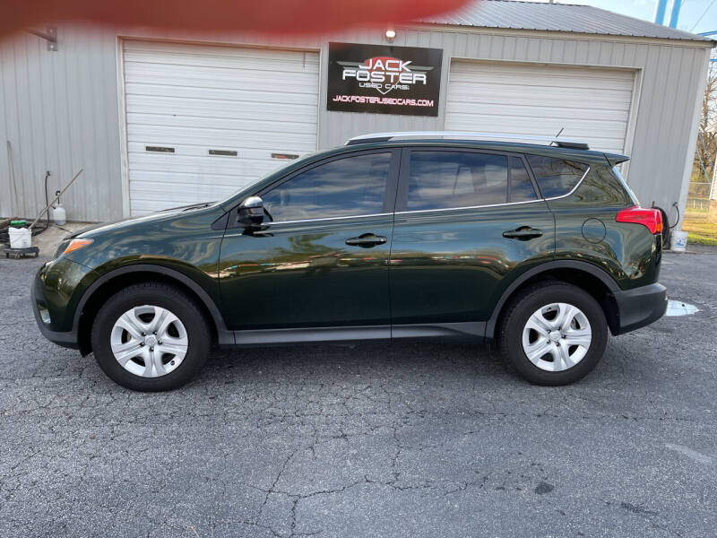 2013 Toyota RAV4 for sale at Jack Foster Used Cars LLC in Honea Path SC