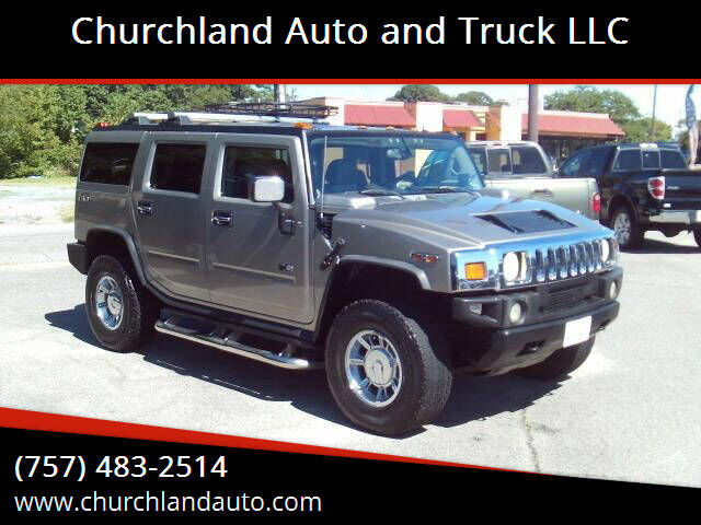 2004 HUMMER H2 for sale at Churchland Auto and Truck LLC in Portsmouth VA