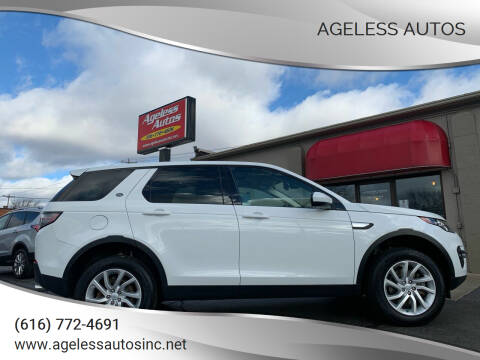 2017 Land Rover Discovery Sport for sale at Ageless Autos in Zeeland MI