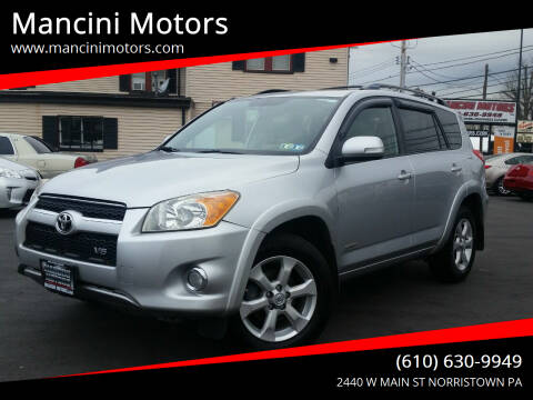 2009 Toyota RAV4 for sale at Mancini Motors in Norristown PA