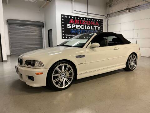 2004 BMW M3 for sale at Arizona Specialty Motors in Tempe AZ