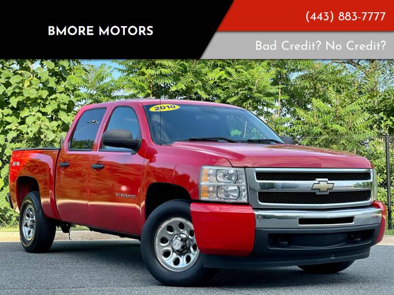 2010 Chevrolet Silverado 1500 for sale at Bmore Motors in Baltimore MD