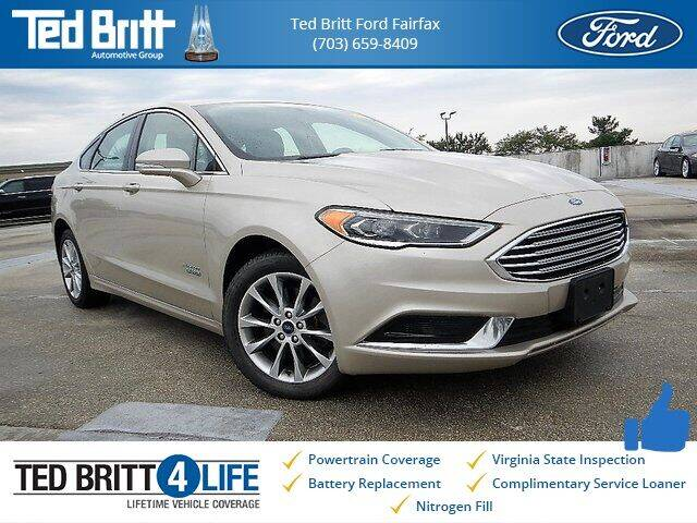 2018 Ford Fusion Energi for sale in Chantilly, VA