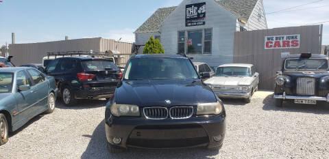 2006 BMW X3 for sale at EHE Auto Sales in Marine City MI