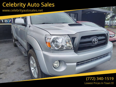2007 Toyota Tacoma for sale at Celebrity Auto Sales in Port Saint Lucie FL