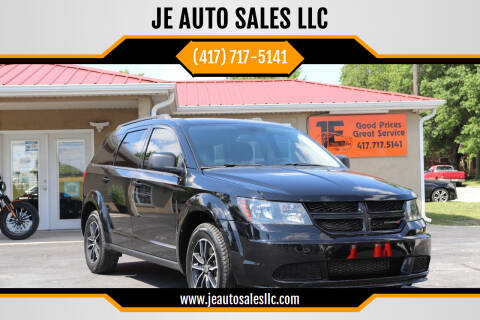 2018 Dodge Journey for sale at JE AUTO SALES LLC in Webb City MO