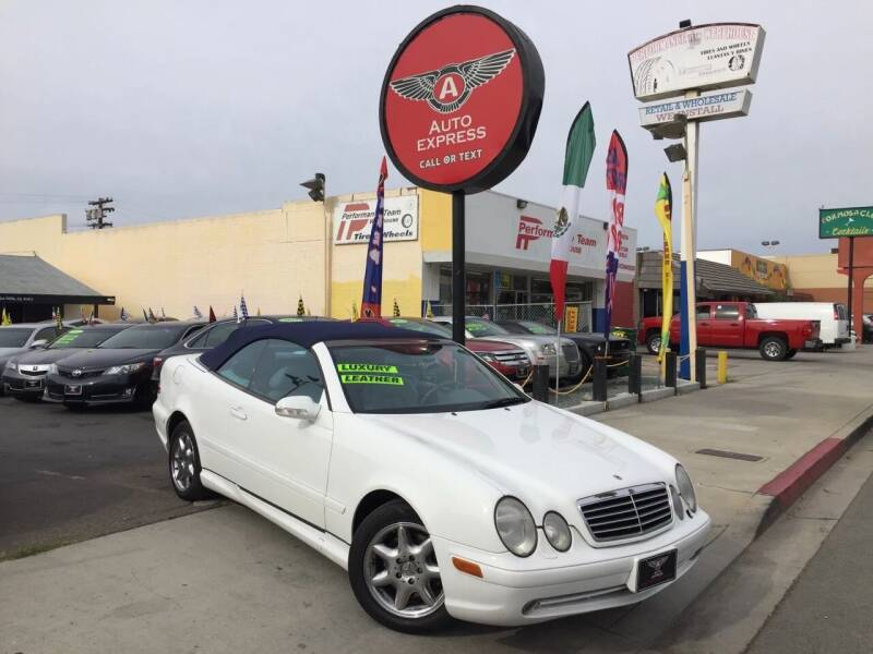 2001 Mercedes-Benz CLK for sale at Auto Express in Chula Vista CA