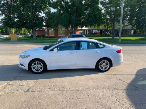 2018 Ford Fusion Hybrid for sale at Mulder Auto Tire and Lube in Orange City IA