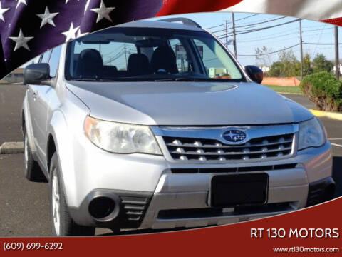 2011 Subaru Forester for sale at RT 130 Motors in Burlington NJ