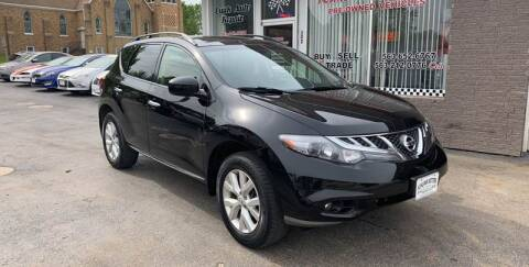 2012 Nissan Murano for sale at KUHLMAN MOTORS in Maquoketa IA