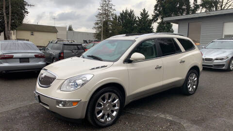 2010 Buick Enclave for sale at C&D Auto Sales Center in Kent WA