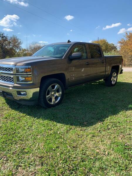 2015 Chevrolet Silverado 1500 for sale at BARROW MOTORS in Caddo Mills TX