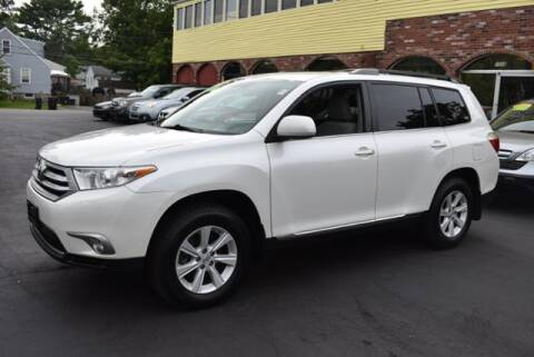 2012 Toyota Highlander for sale at Absolute Auto Sales, Inc in Brockton MA