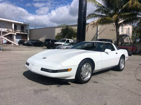 1992 Chevrolet Corvette for sale at Florida Cool Cars in Fort Lauderdale FL