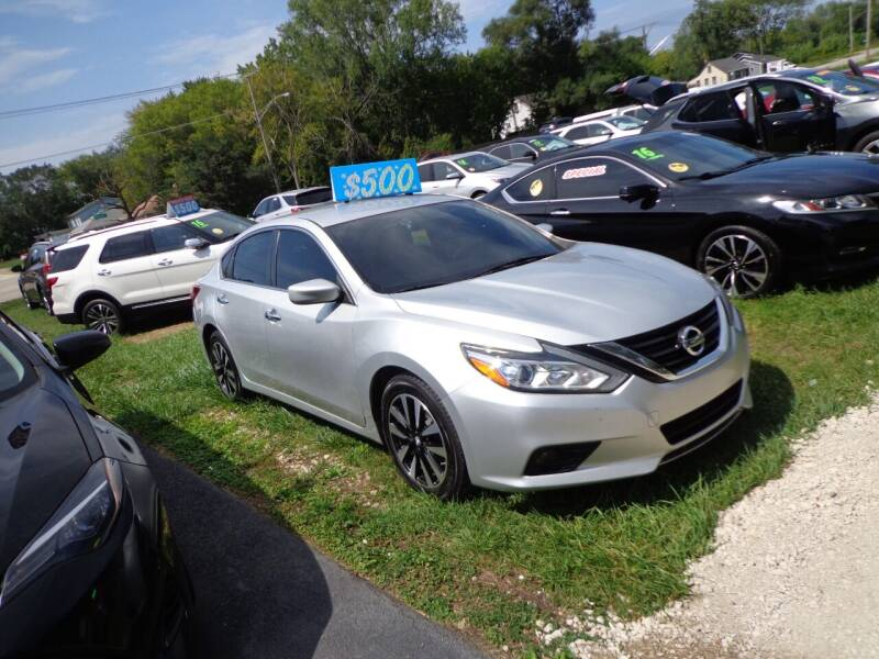 2017 Nissan Altima for sale at North American Credit Inc. in Waukegan IL