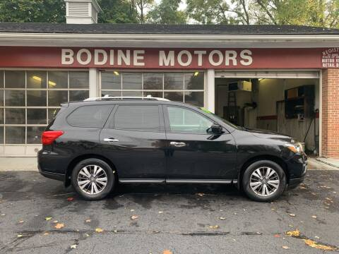2017 Nissan Pathfinder for sale at BODINE MOTORS in Waverly NY