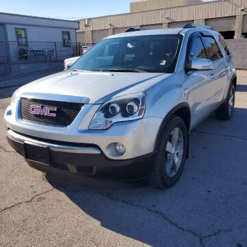 2011 GMC Acadia for sale at TJ Motors in Las Vegas NV
