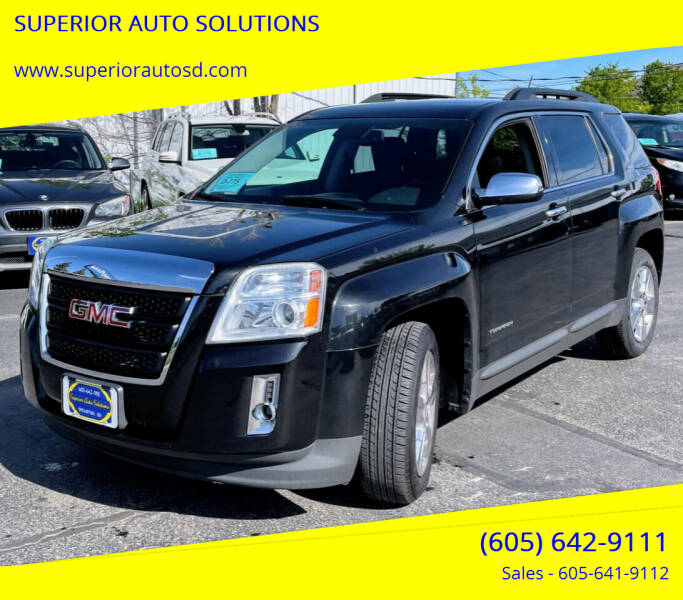 2015 GMC Terrain for sale at SUPERIOR AUTO SOLUTIONS in Spearfish SD