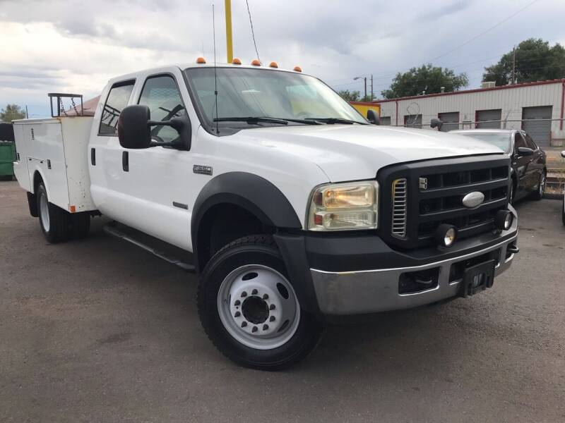 2007 Ford F-550 Super Duty for sale at New Wave Auto Brokers & Sales in Denver CO