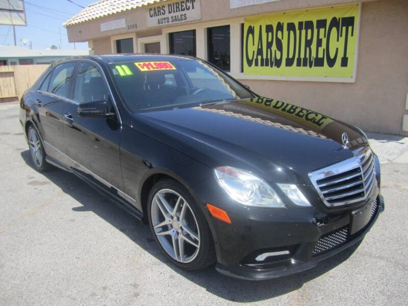 2011 Mercedes-Benz E-Class for sale at Cars Direct USA in Las Vegas NV