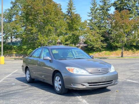 2004 Toyota Camry for sale at H&W Auto Sales in Lakewood WA