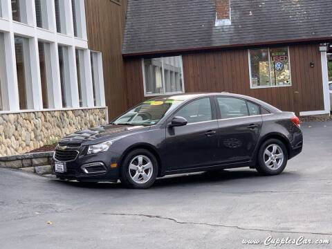 2015 Chevrolet Cruze for sale at Cupples Car Company in Belmont NH