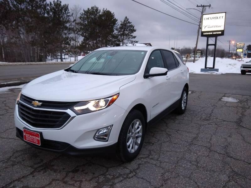 2021 Chevrolet Equinox for sale at KATAHDIN MOTORS INC /  Chevrolet Sales & Service in Millinocket ME