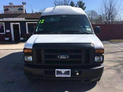 2012 Ford E-Series Cargo for sale at Fuentes Brothers Auto Sales - Jessup in Jessup MD