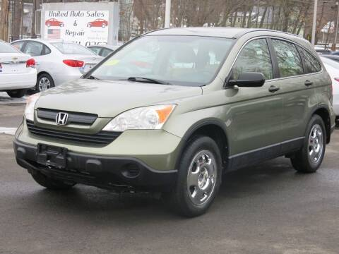 2008 Honda CR-V for sale at United Auto Service in Leominster MA