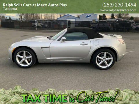 2008 Saturn SKY for sale at Ralph Sells Cars at Maxx Autos Plus Tacoma in Tacoma WA