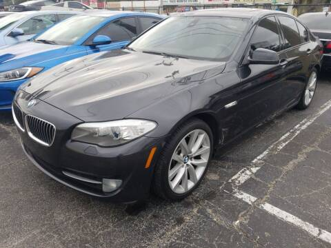 2011 BMW 5 Series for sale at Castle Used Cars in Jacksonville FL