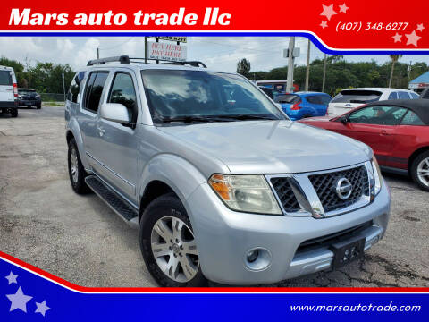 2011 Nissan Pathfinder for sale at Mars auto trade llc in Kissimmee FL