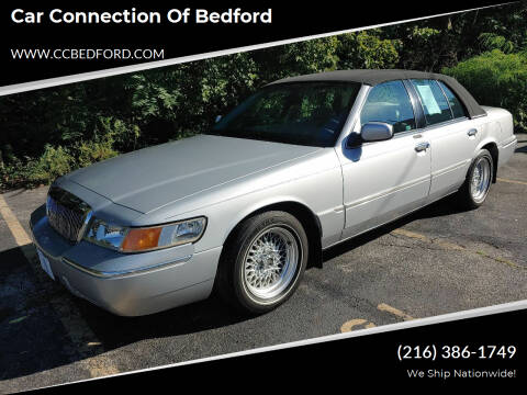 2001 Mercury Grand Marquis for sale at Car Connection of Bedford in Bedford OH