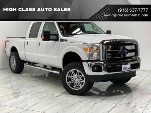 2014 Ford F-250 Super Duty for sale at HIGH CLASS AUTO SALES in Rancho Cordova CA