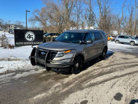 2013 Ford Explorer for sale at Station 45 Auto Sales Inc in Allendale MI