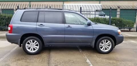 2006 Toyota Highlander Hybrid for sale at Hollingsworth Auto Sales in Wake Forest NC