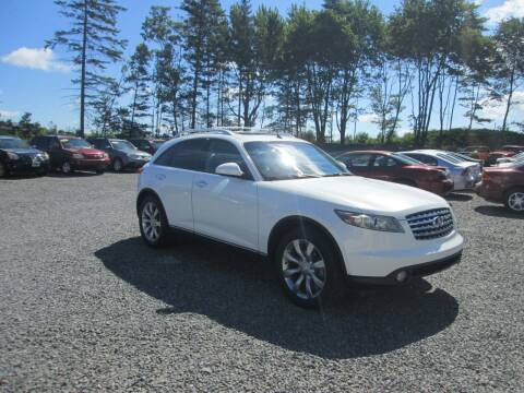 2004 Infiniti FX45 for sale at Small Town Auto Sales in Hazleton PA